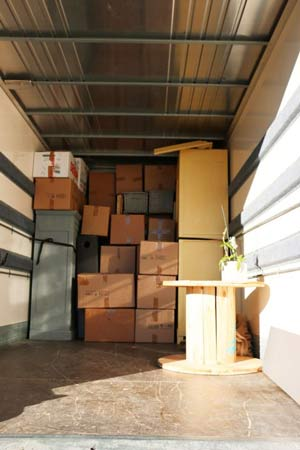 UK to Belgium removals costs