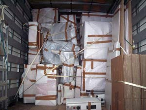 Furniture removals to Belgium