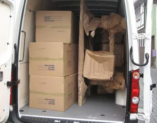 Cheap UK to France removals