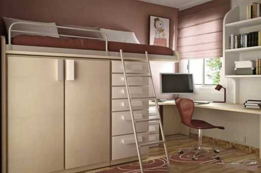 Choosing furniture for a small apartment for Bedsitter interior design