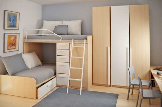Choosing furniture for a small apartment for Furnishing a small flat