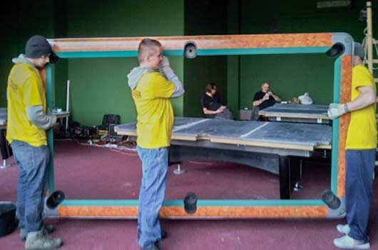 Pool Table Movers Snooker Billiard Foot Pool Table Removals - Professional pool table movers