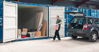 Cheap storage services London
